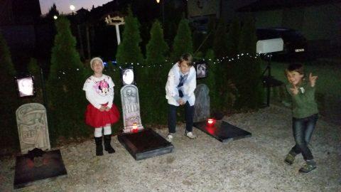 Unser erster Mini-Friedhof
