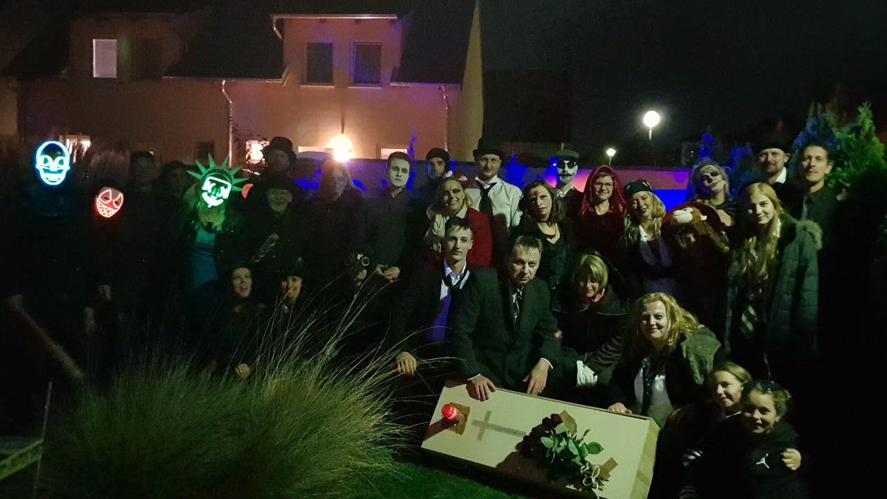Halloween Party Crowd 2018