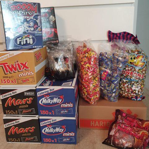 Die Sweets für Halloween 2021 wurden geliefert