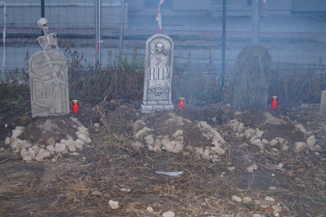 Halloween Friedhof in traiskirchen 2012