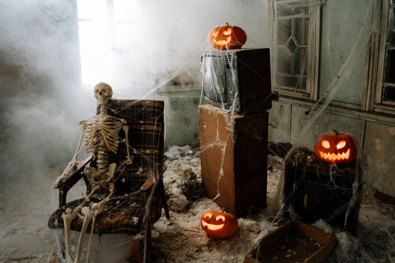Warten auf Halloween